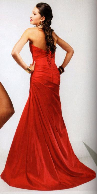Lorna\'s Clearance - Flirt Prom Dress Spunky Red Size 14