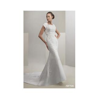 Lorna 39 S Clearance Venus Modest Wedding Dress White Size 8